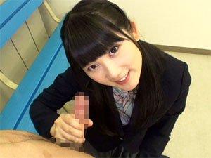 【宮崎あや】放課後女子校生の淫語乳首舐め手コキ