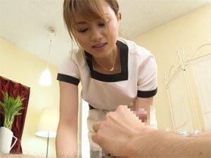 【吉沢明歩】美女エステティシャンが施す魅惑のパウダーマッサージ